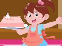 Флеш игра Торт ко дню рождению Барби