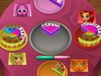 Флеш игра Тортик для друзей