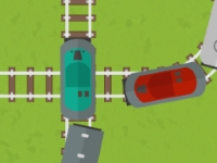 Флеш игра Трафик поездов