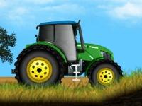 Флеш игра Трактор на ферме