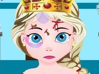 Флеш игра Травма головы у принцессы