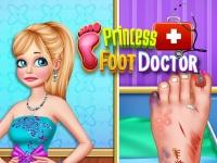 Флеш игра Травма ноги у принцессы