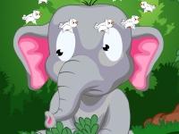 Флеш игра Травма слоненка