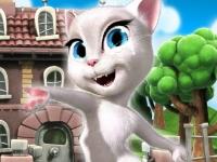 Флеш игра Травмы говорящей кошки Анжелы