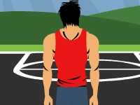 Флеш игра Тренировка баскетболиста