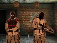 Флеш игра Тренировка бойца в элитный отряд
