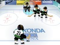 Флеш игра Тренировка по хоккею