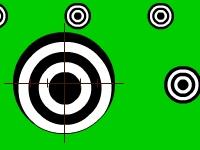 Флеш игра Тренировка снайпера в полиции