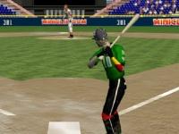Флеш игра Тренировка в бейсболе 3D