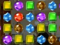 Флеш игра Три алмаза в ряд