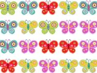 Флеш игра Три бабочки в ряд