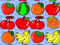 Флеш игра Три фрукта в ряд