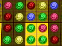 Флеш игра Три конфеты в ряд