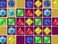 Флеш игра Три кристалла в ряд
