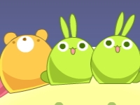 Флеш игра Три милых животных в ряд