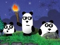 Флеш игра Три панды 2: Ночь