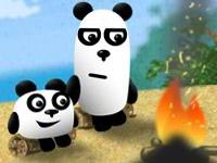 Флеш игра Три панды в Бразилии