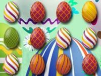 Флеш игра Три пасхальный яйца в ряд
