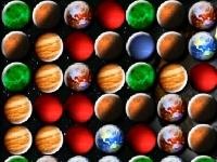 Флеш игра Три планеты в ряд