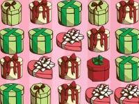 Флеш игра Три подарочных упаковки в ряд