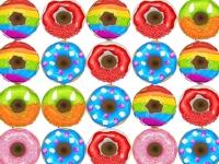Флеш игра Три пончика в ряд