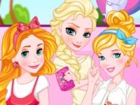 Флеш игра Три принцессы блондинки
