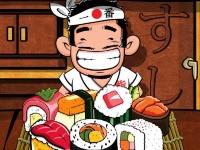 Флеш игра Три суши в ряд