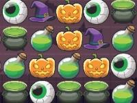Флеш игра Три в ряд: Хэллоуин