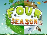 Флеш игра Три в ряд четыре сезона