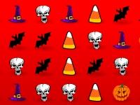 Флеш игра Три в ряд на Хэллоуин