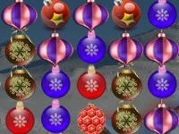 Флеш игра Три в ряд на Рождество