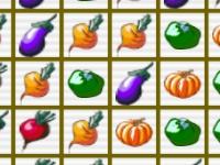 Флеш игра Три в ряд на вегетарианской ферме