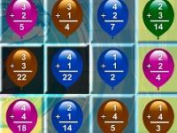 Флеш игра Три в ряд с математикой