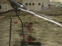 Флеш игра Трипод атакует