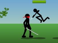Флеш игра Троица бойцов стикменов