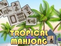 Флеш игра Тропический маджонг