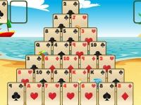 Флеш игра Тропический пасьянс-пирамида