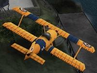 Флеш игра Трюки на самолете 3D: Сан-Франциско