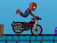 Флеш игра Трюки с Человеком-пауком