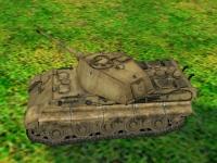 Флеш игра Тяжелые танки 3D