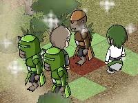 Флеш игра Тёмная война
