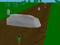 Флеш игра Убегающий охотник 3D