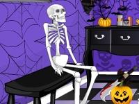 Флеш игра Уборка на Хэллоуин