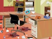 Флеш игра Уборка офиса