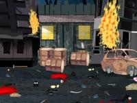 Флеш игра Уборка после боевых действий