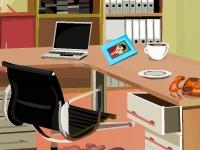 Флеш игра Уборка в кабинете