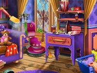 Флеш игра Уборка во дворце