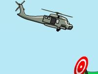 Флеш игра Учения на вертолете