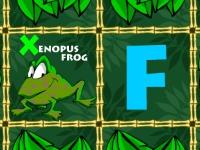 Флеш игра Учим алфавит с животными