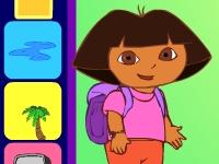 Флеш игра Учим испанский и английский вместе с Дашей путешественницей